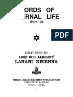 Words of Eternal Life - II