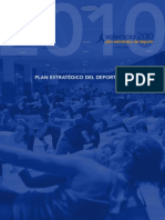 110101 Plan Estratégio Del Deporte de Valencia