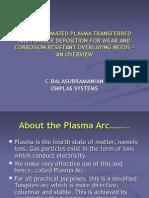 Fully Automated Plasma Transferred Arc Powder Deposition – for Bonetti Waaree