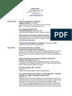 resume wilcox 8 4 15