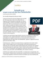 149 - ConJur - O Jurista Carl Schmitt e Os Experimentos de Von Pettenkofer