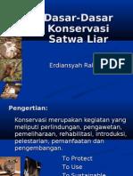 Pembukaan Konservasi Satwa Liar