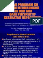 Kb Dan Aki Bkkbn 2011