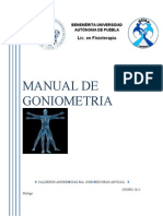Manual Goniometría Electronico