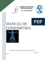 Manual Goniometría Electronico
