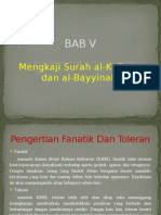 Mengkajisurahal Kafirundanal Bayyinah1 140826225604 Phpapp02