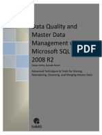Data Quality and Master Data Management With Microsoft SQL Server 2008 R2