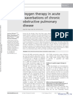 Oxygen Therapy in Acute