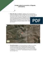 Informe Ecologia Chiguata