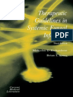 Therapeutic Guidelines in Systemic Fungal Infection. 3rd Ed. (1)