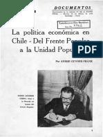 Gunder Frank- Del Frente Popular a La Unidad Popular