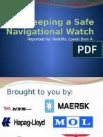 Keeping a Safe Navigational Watch