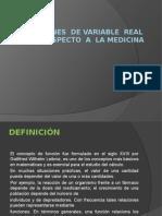 Funciones de Variable Real Con Respecto a La