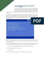 Cómo Desactivar CHKDSK Al Inicio de Windows