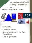 Sesiones 11 y 12 Modelo Creditmetrics Parte 1