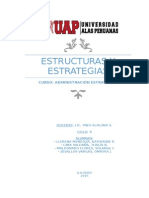 Estructuras y Estrategias
