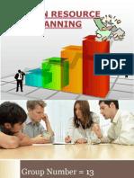 human resource planning ppt