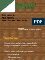 Clase1-La Madera Como Materia Prima