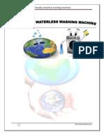 export and import procedure of innovative virtually waterless washing machine.