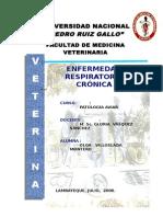 MONOGRAFIA Enfermedad Respiratoria Crónica (Micoplasma)