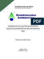 DIAGNÓSTICO DA GESTÃO DE RESÍDUOS SÓLIDOS DO MUNICÍPIO DE DELFIM MOREIRA (MG)