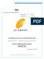 analisis del caso Jet Airways