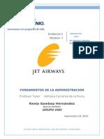 analisis del caso Jet Airways