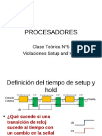 Clase 07-1 - Violaciones Setup and Hold y Metastabilidad