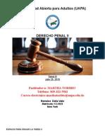 Derecho Penal Tarea III Final 7-23-15