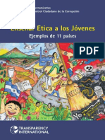 ENSEÑAR ETICA A LOS JÓVENES