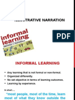 Informal Learning Context in Teaching Science