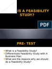 What is a feasibilitystudy