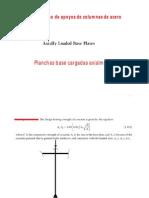 Analisis y Diseño de Apoyos de Columnas