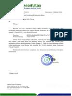 DKK Surat Revisi Pembayaran Klaim Non Kapitasi Pkm Cilacap Tgl 13 Agust