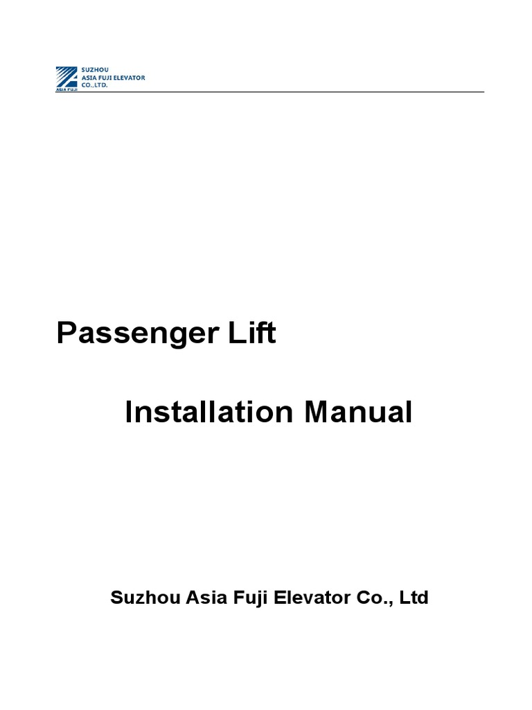 Enjoyable Installation Manual Pdf Track Rail Transport 308 Views Wiring Cloud Tobiqorsaluggs Outletorg