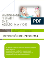 DISF. Sexuales en El Adulto Mayor