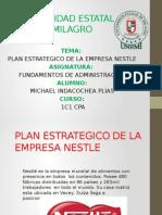Plan Estrategico Empresa Nestle