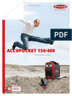 ACCUPOCKET 150,400,
