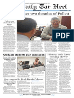 The Daily Tar Heel for Nov. 18, 2015