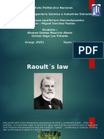 Raoult Law