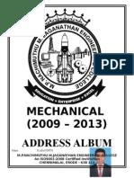 MECH Address Album (2009 2013)