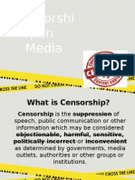 Ethics in Censorship