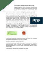 Cambiando Los Permisos a Archivos y Carpetas en Linux Mint y Ubuntu
