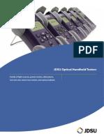 Jdsu Optical Handheld Tester Datasheet
