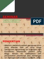 Seminar Alkalosis Metabolik