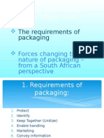 Role of Packaging in Supply Chain