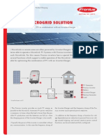 fronius microgrid solution