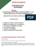 La Consolidacion Del Capitalismo- Economia Exposicion Del Grupo