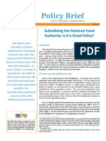NFA Policy Brief