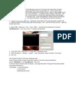 Cara Mematikan Komputer Jaringan Dengan CMD